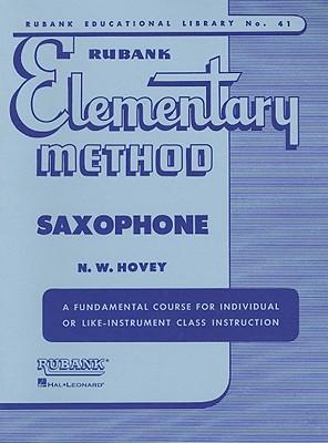 Image for Rubank Elementary Method - Saxophone (Rubank Educational Library)