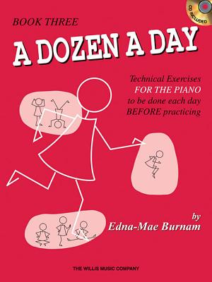 Image for A Dozen a Day - Book 3 with CD