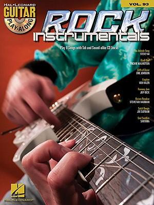 Image for ROCK INSTRUMENTALS - GUITAR PLAY-ALONG VOLUME 93 (BOOK/CD) (Hal Leonard Guitar Play-Along)