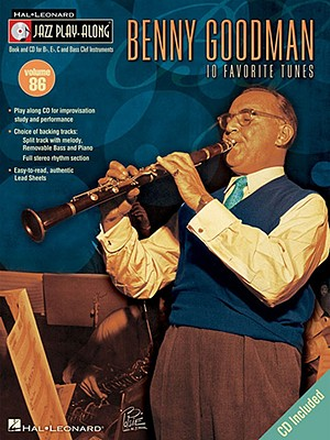 Image for Benny Goodman Jazz Play-Along Vol.86 Bk/Cd