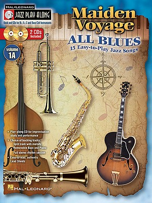 Image for Maiden Voyage/All Blues: Jazz Play-Along Volume 1A