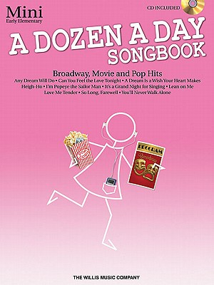 Image for A Dozen A Day Songbook - Mini (Book/Cd)