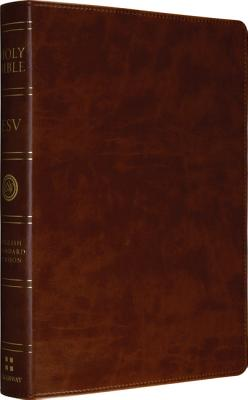 ESV Large Print Bible (TruTone, Brown)