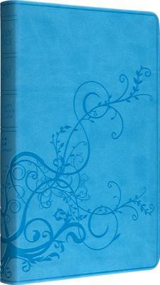 ESV Thinline Bible (TruTone, SkyBlue, Ivy Design)