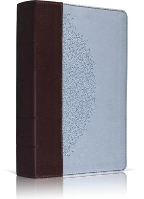 "Image for ""''ESV Study Bible, Personal Size (TruTone, ChocolateBlue, Ivy Design) (Esv Bibles)''"""
