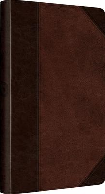 ESV UltraThin Bible (TruTone, Brown/Walnut, Portfolio Design), ESV Bibles by Crossway