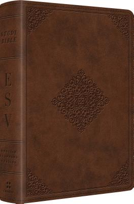 "Image for ""''ESV Study Bible, Personal Size (TruTone, Saddle, Ornament Design)''"""