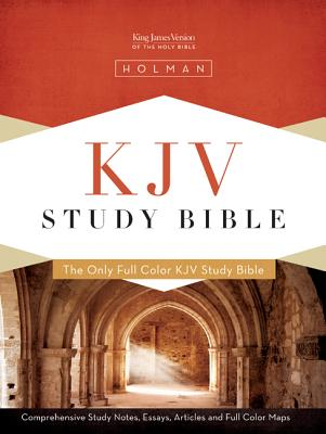 KJV Study Bible - Mantova Brown Simulated Leather