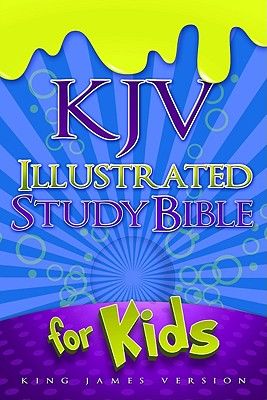 Image for KJV Illustrated Study Bible for Kids, Blue LeatherTouch