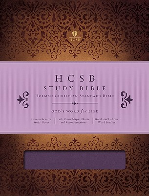 HCSB Study Bible (Mulberry Simulated Leather)
