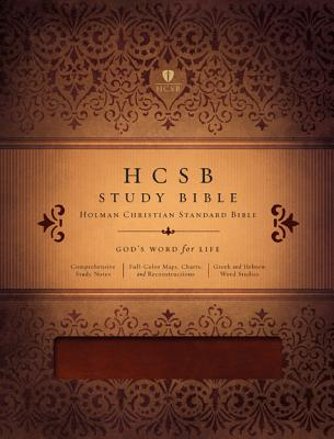 HCSB Study Bible (Mahogany Simulated Leather)