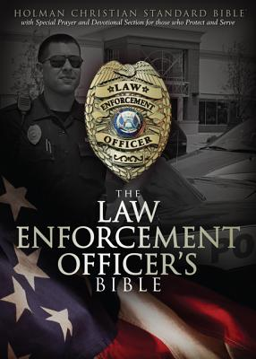 HCSB Law Enforcement Officer's Bible, Simulated Leather (Black), Holman Bible Editorial Staff