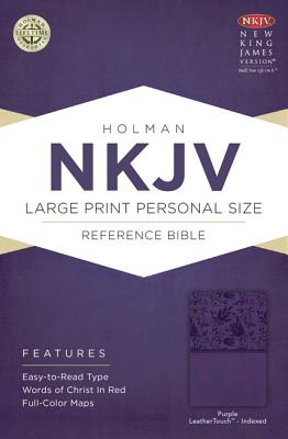 "Image for ""''NKJV Large Print Personal Size Reference Bible Purple, Indexed''"""