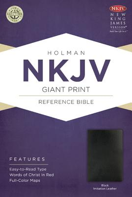 Image for NKJV Giant Print Reference Bible, Black Imitation Leather