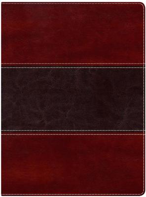 Image for Holman Study Bible: NKJV Edition, Mahogany LeatherTouch