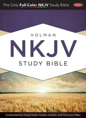 Image for Holman Study Bible: NKJV Edition, Jacketed Hardcover