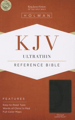 Image for KJV Ultrathin Reference Bible Charcoal