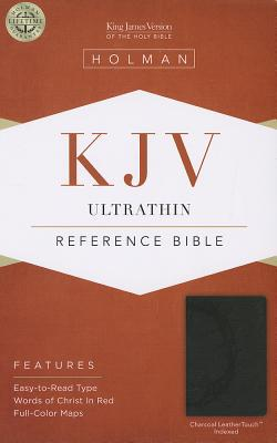 "Image for ""KJV Ultrathin Reference Bible Charcoal, Indexed"""