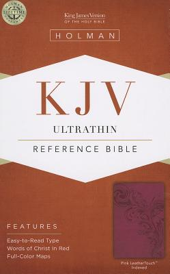 "Image for ""KJV Ultrathin Reference Bible Pink, Indexed"""