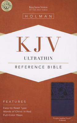 "Image for ""KJV Ultrathin Reference Bible Purple, Indexed"""