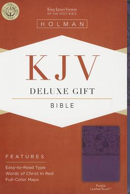 Image for KJV Deluxe Gift Bible, Purple LeatherTouch
