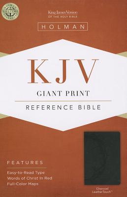 Image for KJV Giant Print Reference Bible Charcoal
