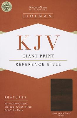 "Image for ""''KJV Giant Print Reference Bible, Brown Leathertouch, Indexed''"""