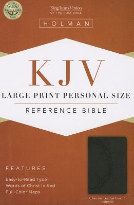 "Image for ""''KJV Large Print Personal Size Reference Bible Charcoal, Indexed''"""