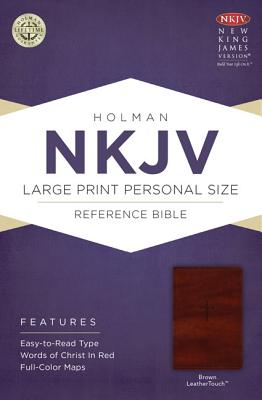 Image for NKJV Large Print Personal Size Reference Bible Brown