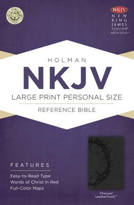 Image for NKJV Large Print Personal Size Reference Bible Charcoal