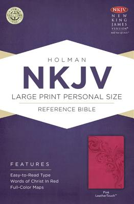 Image for NKJV Large Print Personal Size Reference Bible Pink