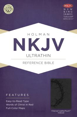 "Image for ""NKJV Ultrathin Reference Bible Charcoal, Indexed"""