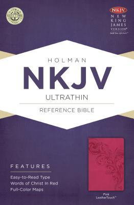 Image for NKJV Ultrathin Reference Bible Pink