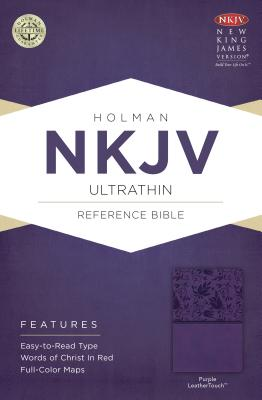 Image for NKJV Ultrathin Reference Bible, Purple LeatherTouch