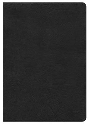 Image for NKJV Large Print Compact Reference Bible, Black LeatherTouch