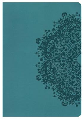 Image for NKJV Large Print Ultrathin Reference Bible Teal Leathertouch