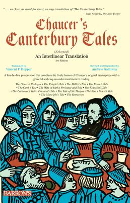 Image for Chaucer's Canterbury Tales (Selected): An Interlinear Translation