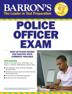Image for Barron's Police Officer Exam, 9th Edition