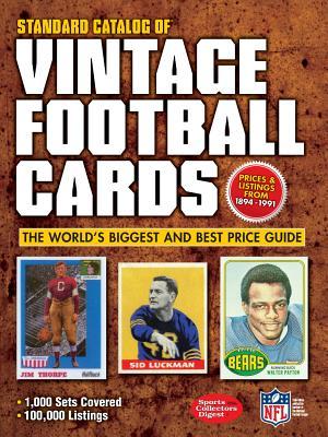 Image for Standard Catalog of Vintage Football Cards