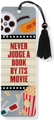 Image for Never Judge a Book by its Movie Beaded Bookmark