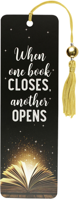 Image for When One Book Closes Beaded Bookmark