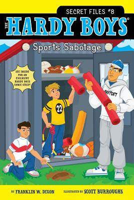 Image for Sports Sabotage (8) (Hardy Boys: The Secret Files)