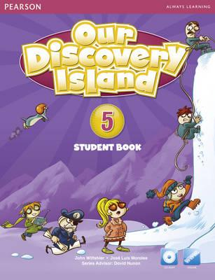 Our Discovery Island 5 Students' Book with CD-ROM  Pack (American English), Wiltshier, John,  Morales, Jose Luis