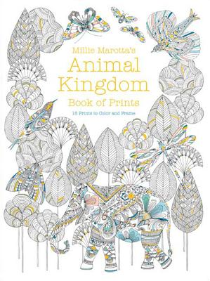 Image for Millie Marotta's Animal Kingdom Book of Prints (A Millie Marotta Adult Coloring Book)