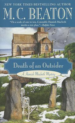 Image for Death of an Outsider (A Hamish Macbeth Mystery)