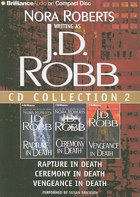 Image for J. D. Robb CD Collection 2: Rapture in Death, Ceremony in Death, Vengeance in Death (In Death Series)