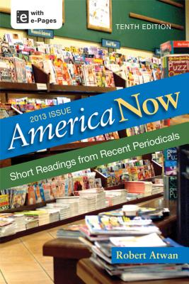 Image for America Now: Short Readings from Recent Periodicals