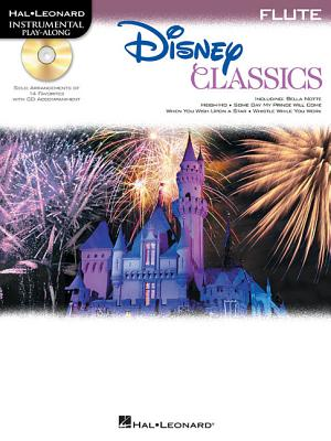 Image for Disney Classics For Flute -  Instrumental Play-Along      CD/Pkg