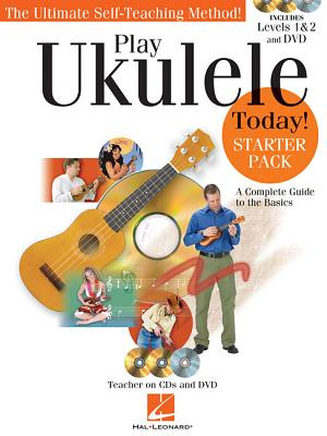 Image for Play Ukulele Today! - Starter Pack: Includes Levels 1 & 2 Book/CDs and a DVD