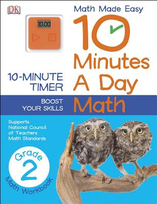 Image for 10 Minutes a Day: Math, Second Grade